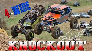 KNOCKOUT RACING GOES 4 WIDE - Rock Rods Episode 32