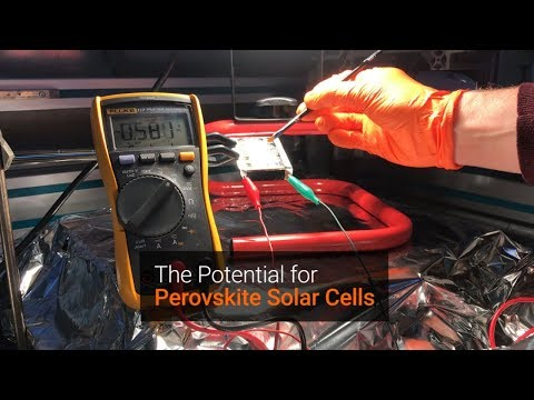 The Potential for Perovskite Solar Cells