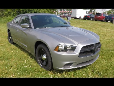 2014 Dodge Charger Police Pursuit Package Youtube