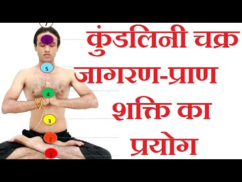 कुंडलिनी चक्र जागरण-प्राण शक्ति का प्रयोग |  Kundalini Yoga for Chakras activation in Hindi