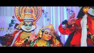 traditional kerala hindu wedding highlights 2018 angitha + adarsh
