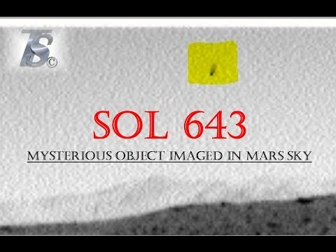 Mysterious Object Imaged In Mars Sky SOL - 643