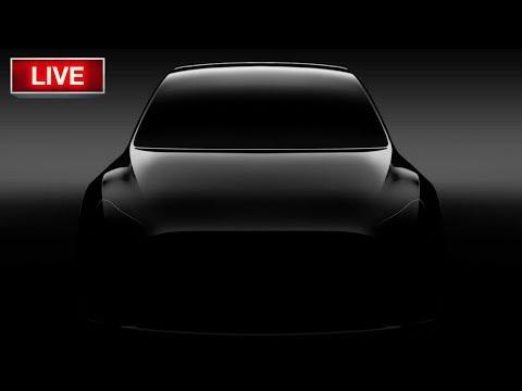 Tesla Model Y Unveiling LIVE - TSLA Stock - YouTube
