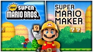 Remaking New Super Mario Bros. 1-1 in Super Mario Maker [MOD SHOWCASE]