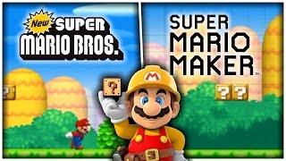 Remaking New Super Mario Bros. 1-1 in Super Mario Maker