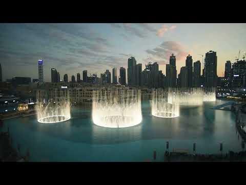 "180116 EXO ""POWER"" ~ The Dubai Fountain"