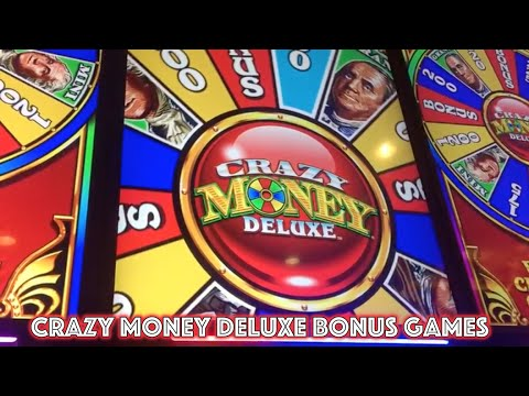 Crazy MONEY Deluxe Slot Machine Bonus Games x2 - Green Valley Ranch
