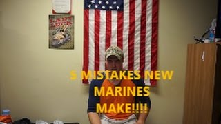 5 mistakes that new Marines make