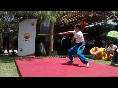 ARTISTAS MARCIALES CHUNG SHAN EN EVENTO CNPC