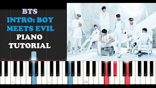 BTS - Intro: Boy Meets Evil (Piano Tutorial)