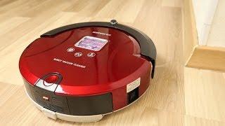 видео Купить Мини робот-пылесос Clever & Clean M-Series 004 по цене 7 990 руб. в интернет магазине Мой Маркет.Ру