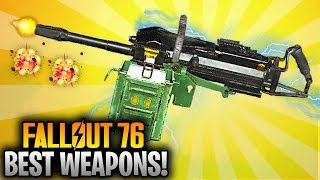Fallout 76 Best Weapons - The Two Shot AUTO GRENADE LAUNCHER! (Legendary Weapons)