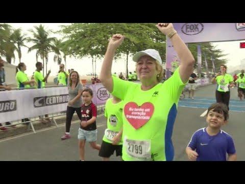 afpes: La brasileña que corre con un corazón alemán