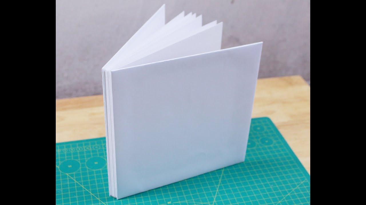 Hướng dẫn làm album scrapbook cơ bản – How to make scrapbook album part  1