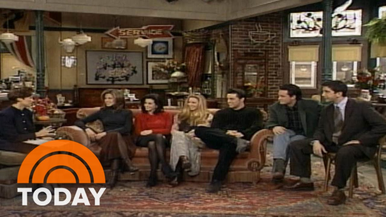 Flashback: Watch 'Friends' Cast Talk Show's Success In 1994   TODAY