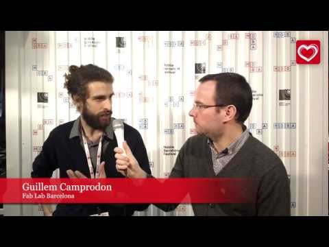Mobile World Congress 2013 MLOVE TV  Guillem Camprodon, Fab Lab