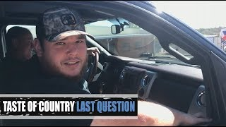 Download Luke Combs' Worst Habit, Secret Talent + Spirit Animal - Last Question Mp3 and Videos