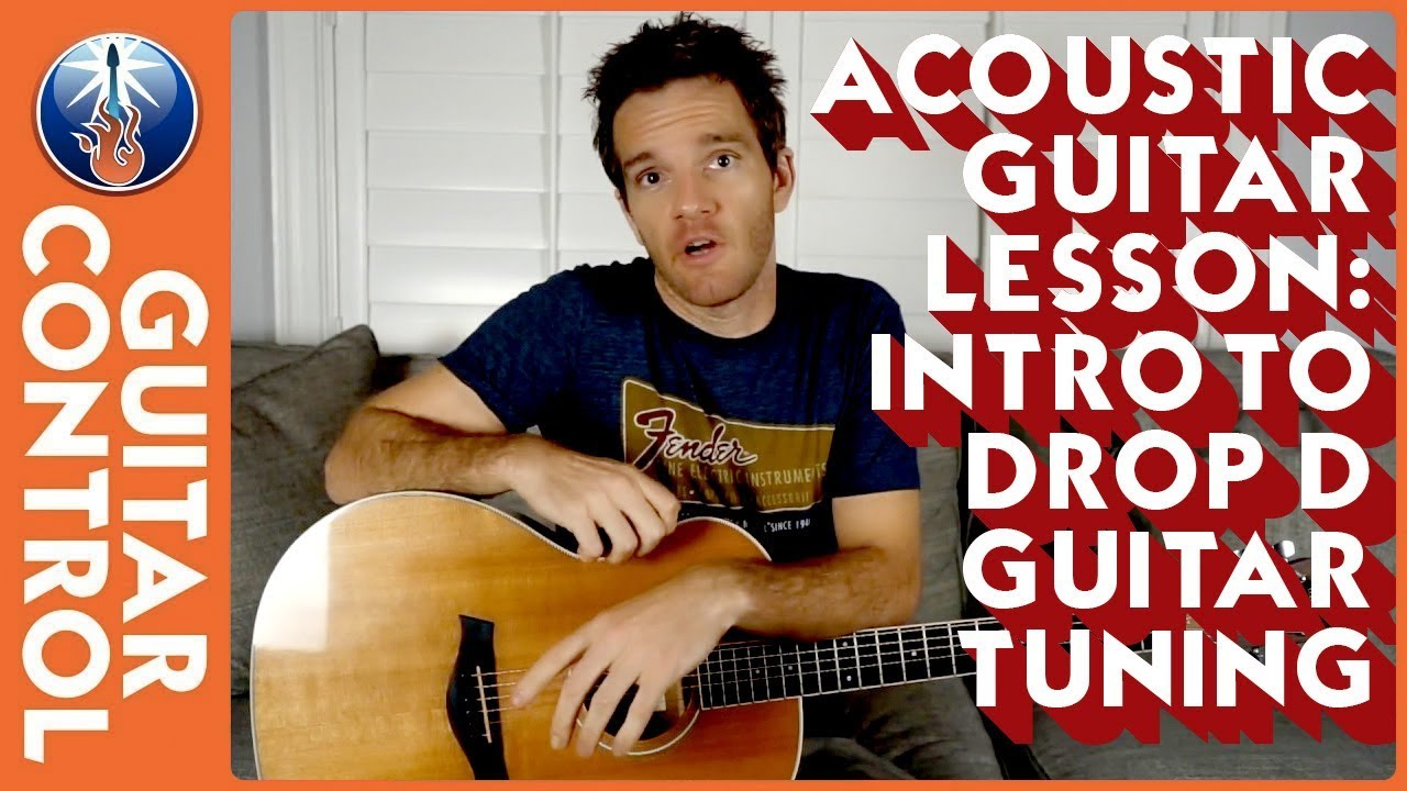 acoustic guitar lesson intro to drop d guitar tuning youtube. Black Bedroom Furniture Sets. Home Design Ideas