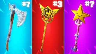 20 Most TRYHARD Fortnite Pickaxes!