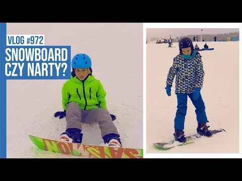 SNOWBOARD CZY NARTY? / VLOG #972
