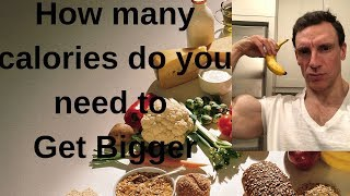 How Many Calories Do You Need to Get Bigger, Diet Tips, Workout Nutrition