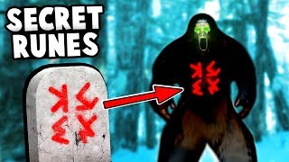 The YETI Is CURSED! We Found SECRET RUNES! (Finding Bigfoot 2.0 Update Gameplay)
