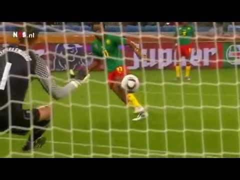 WK 2010 Kameroen - Nederland (Hoogtepunten)