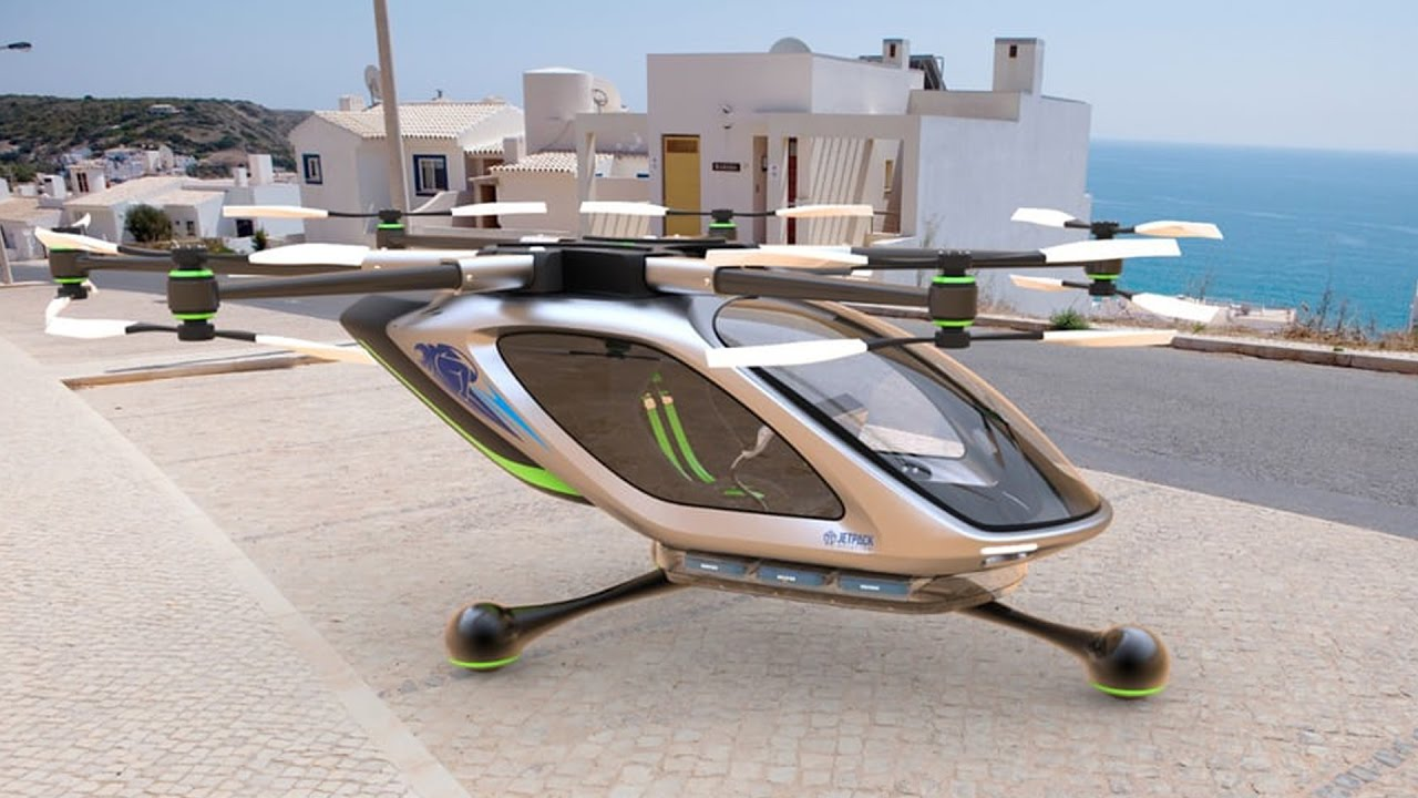 Technology and inventions of 2017 (So far): Flying cars, garbage ...