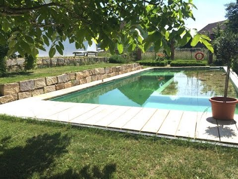 schwimming pond - youtube, Gartenarbeit ideen