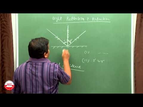 CLASS 10 Physics Video Lectures- light reflection & refraction (CBSE) by NEVT