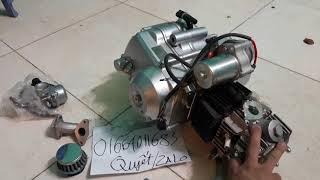 Động cơ 125cc có số lùi | lifan | zongshen