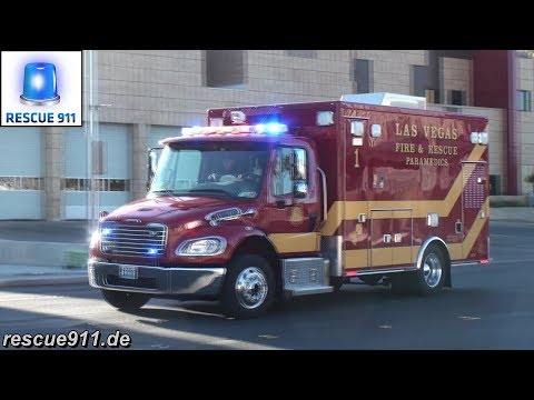 4x Rescue 1 Las Vegas Fire-Rescue