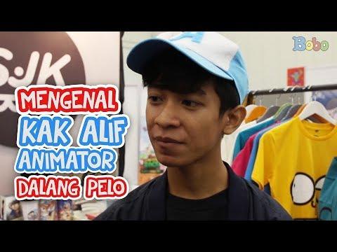 Mengenal Kak Alif, Animator Dalang Pelo - PopCon 2018