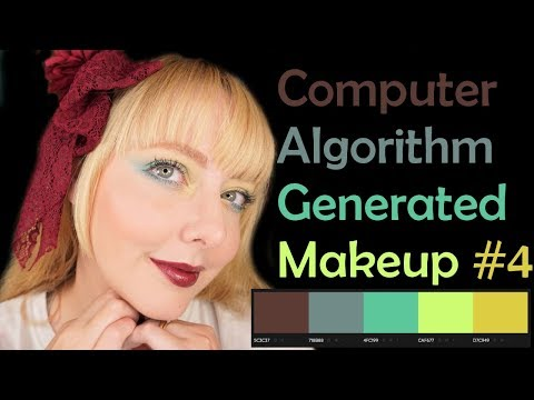 Computer Algorithm Picks My Makeup Ep4 - Classy Brights