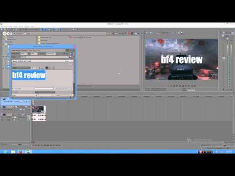 How to Make a Thumbnail in Sony Vegas Pro 13
