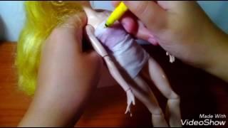 Как сшить тунику для кукол.(Всем привет!В этом видео я вам покажу как сшить тунику для кукол. Приятного просмотра!, 2016-08-10T16:59:50.000Z)