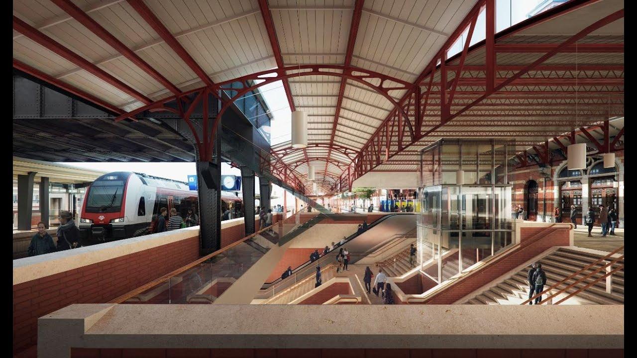 Ontwerp voor verbouw monumentaal station Groningen