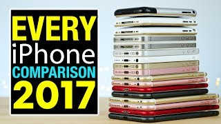 Every iPhone Comparison 2017!