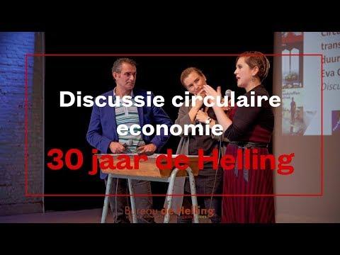 Tom van der Lee (GroenLinks) en Eva Gladek over circulaire economie en duurzaamheid