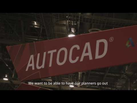 AutoCAD mobile app customer reviews at Autodesk University 2016, Las Vegas