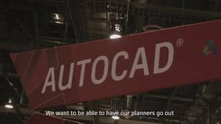 AutoCAD mobile app customer reviews at Autodesk University 2016, Las Vegas