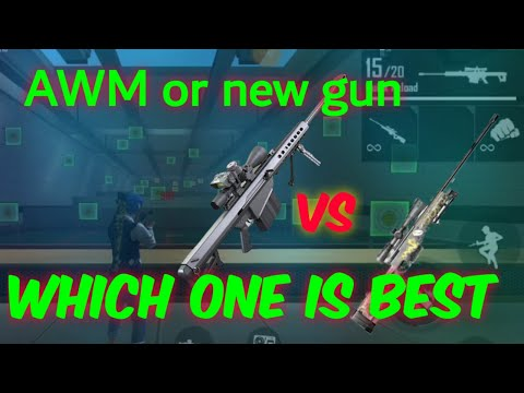 AWM vs new sniper M82B/which one is best||shalo|| ||tamil||#new_gun