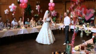 Ах! эта свадьба пела и плясала-молодожёны зажгли супер!