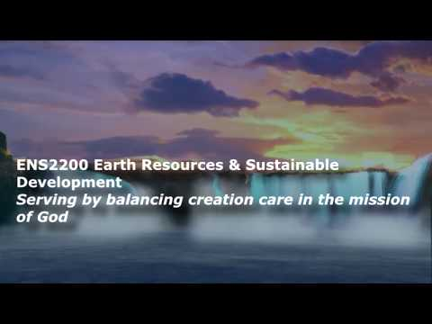 ENS2200 Earth Resources & Sustainable Development
