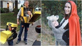 Top 17 Funny Halloween DIY Costumes for Babies and Parents - Easy Cosplay Ideas for Halloween!