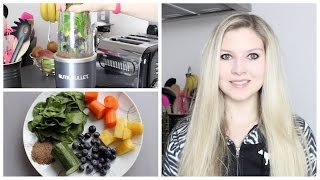 tasty quick green smoothie recipe   whatthehealth