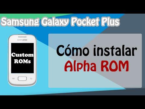 Cómo instalar Alpha ROM V3 en el Galaxy Pocket GT-S5301/L/B