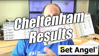 Betfair trading - Peter Webb - Cheltenham update