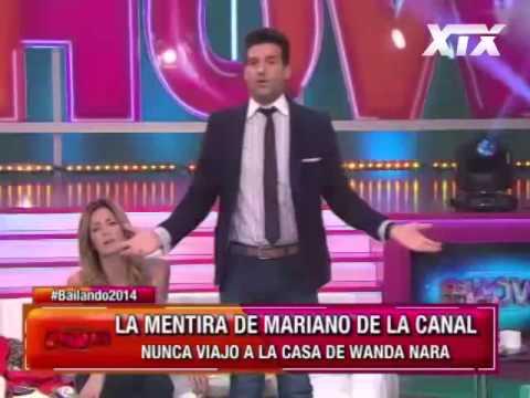 """Le dicen """"feo"""" a Mariano de la Canal, se lo dijo Pamela Justiniano al vivo y en su caraиз YouTube · Длительность: 1 мин24 с"""