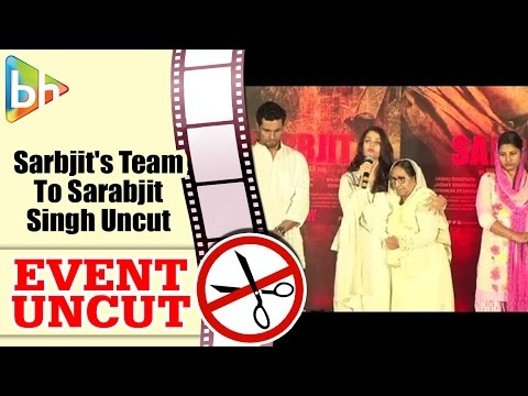 'Sarbjit' Team Pays Tribute To Sarabjit Singh On His 3rd Death Anniversary | Event Uncut